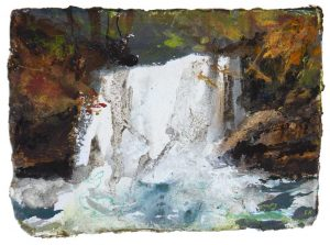 ART CARD: Lips of Autumn at Jenner's Foss