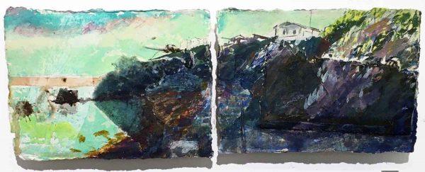 Frances-Hatch-Bright-Summer-Dawn-The-Fleet Chesil Beach Dorset