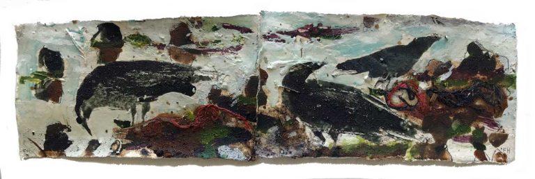 Frances-Hatch-FORAGING-CROWS