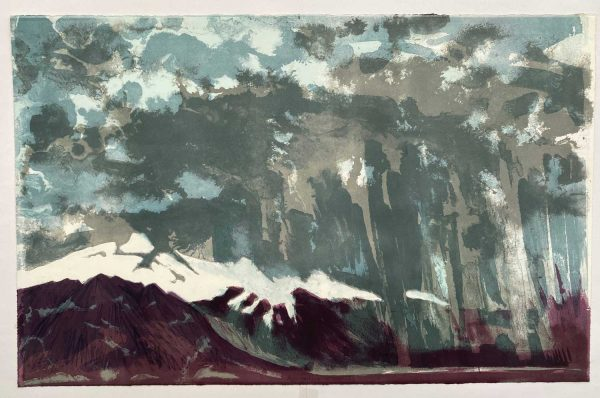 Iceland Approaching Storm 2 lithograph 77x49cm