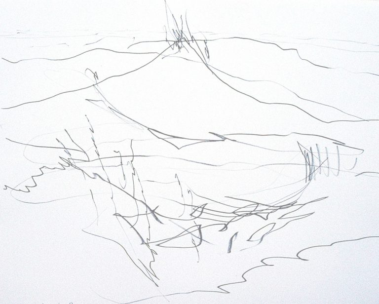 JOURNEY Drawing from sketchbook 6