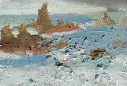 detail of Cobo Returning Tide.