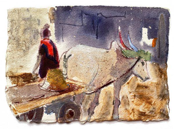 Frances Hatch GREEN YOKE. CHENNAI