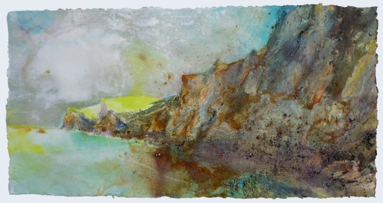FRANCES HATCH Early Sun Touches Durdle Door Promontory 2019