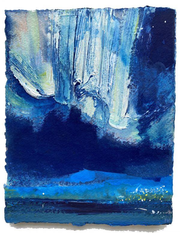 Frances Hatch Northern Lights and Lights of Storekorsnes